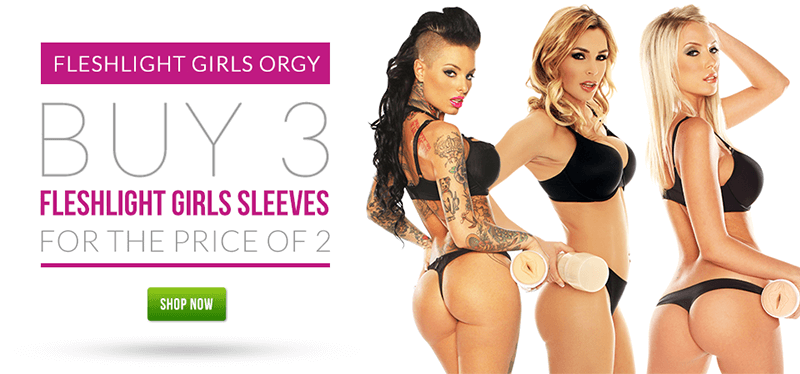 Fleshlight Girls Orgy - Buy 3 Sleeve for the Price of 2