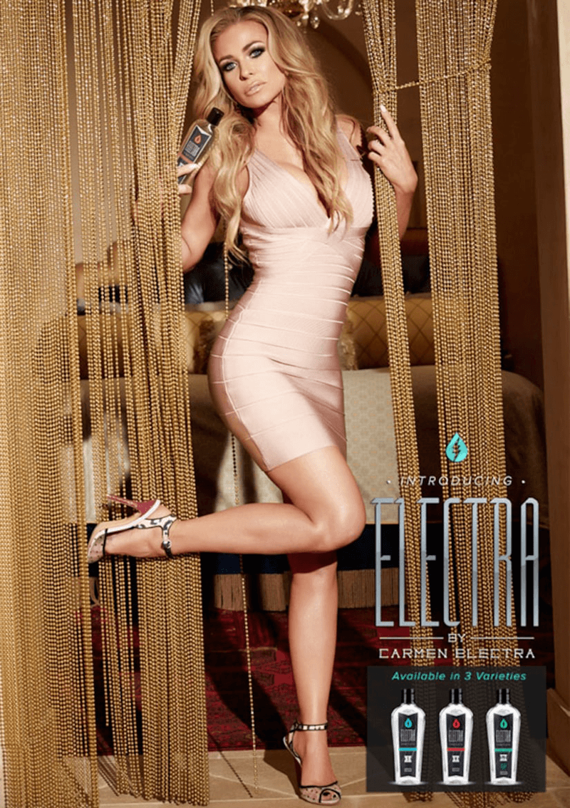 Introducing Electra Lube by Carmen Electra