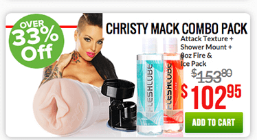 Fleshlight Chirsty Mack Combo Pack
