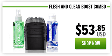 Fleshlight Fresh and Clean Quickshot Boost Combo