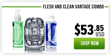 Fleshlight Fresh and Clean Quickshot Vantage Combo