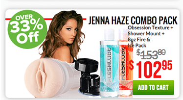 Fleshlight Jenna Haze Combo Pack