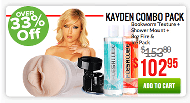 Fleshlight Kayden Combo Pack