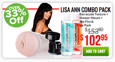 Fleshlight Lisa Ann Combo Pack