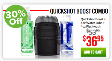 Fleshlight Quickshot Boost Combo