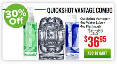 Fleshlight Quckshot Vantage Combo