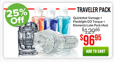 Fleshlight Travelers Pack
