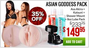 Fleshlight Asian Goddess Pack
