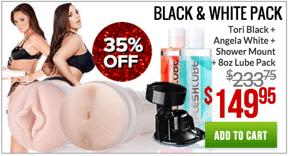 Fleshlight Black and White Pack