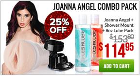 Fleshlight Joanna Angel Combo Pack