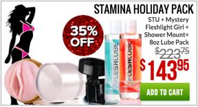 Fleshlight Stamina Holiday Pack