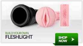 Build Your Own Fleshlight - Choose your Case. Choose your Orifice. Choose your Texture.