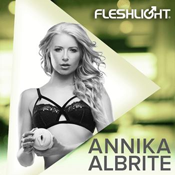 Fleshlight Girl Anikka Albrite Goddess and Siren textures