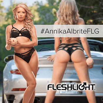 Fleshlight Girl Anikka Albrite Goddess and Siren textures