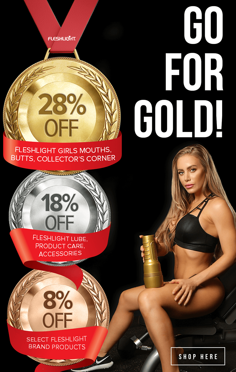 Fleshlight Go for the Gold Sale