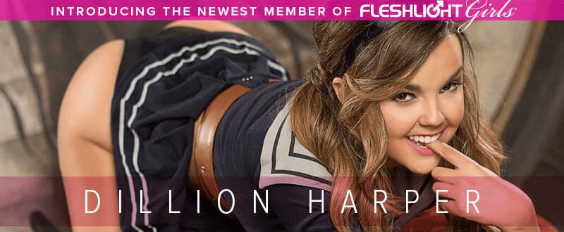 Now Available, Fleshlight Girl Dillion Harper Crush texture
