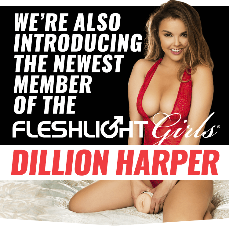 Introducing New Fleshlight Girl Dillion Harper Crush texture