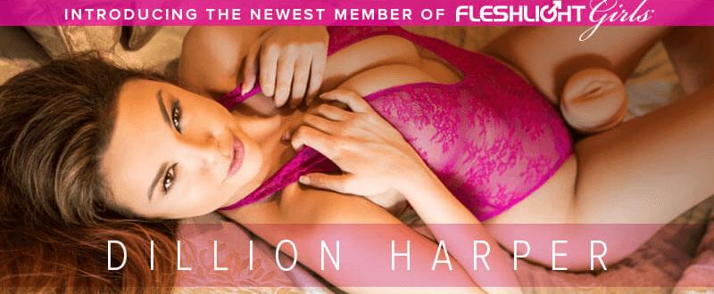 Introducing Newest Fleshlight Girl Dillion Harper