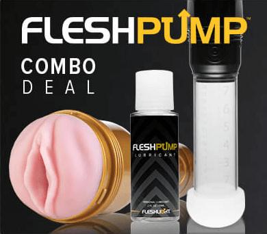 Fleshlight FleshPump Penis Pump Combo Deal