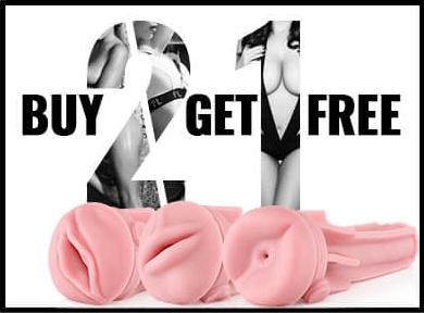 Buy 2 get 1 Free Fleshlight Sleeves - 33% Savings