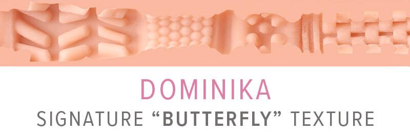 Fleshlight Girl Dominika Butterfly texture