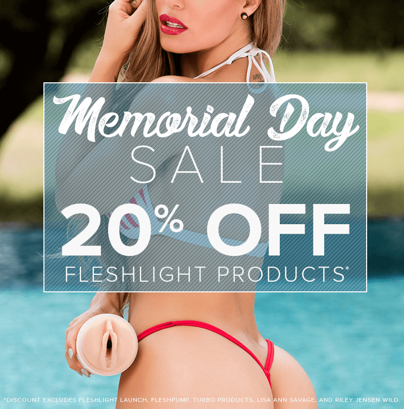 Fleshlight Memorial Day Sale