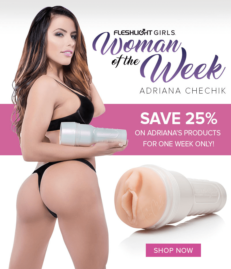 Fleshlight Girl Adriana Chechik - One week sale