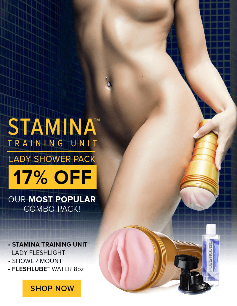 Fleshlight Stamina Training Unit - Lady Shower Pack