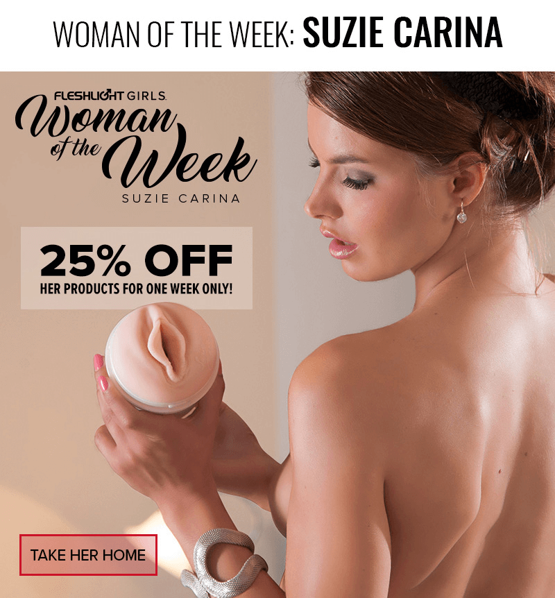 Fleshlight Girl Suzie Carina - One week sale