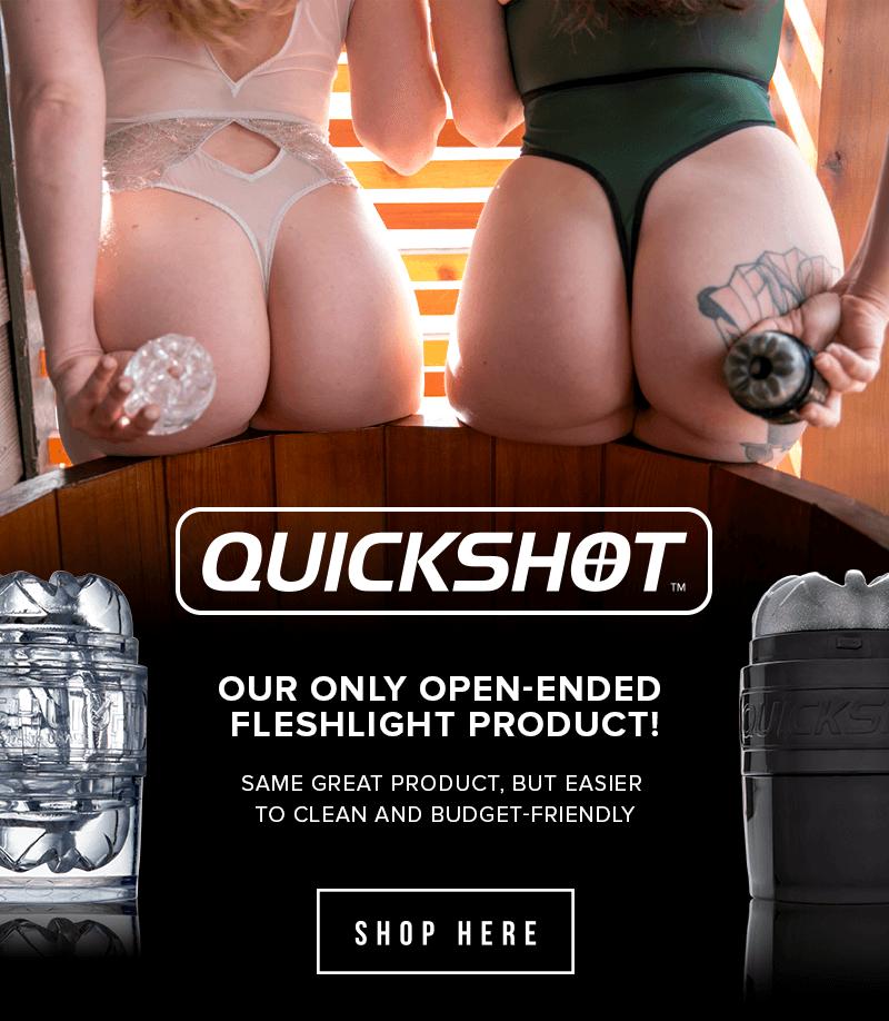 Fleshlight Quickshot - Play more, clean less