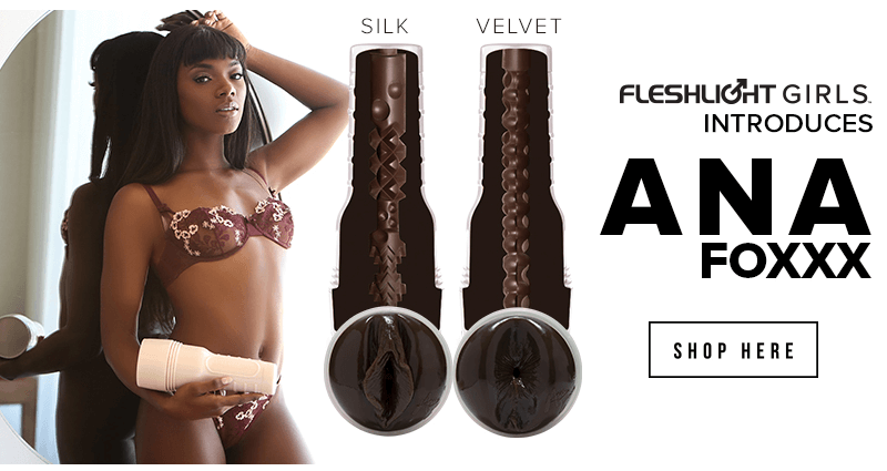 New Fleshlight Girl Ana Foxxx - Silk and Velvet textures