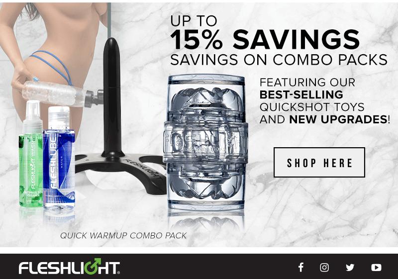 Fleshlight Combo Packs up to 15% off
