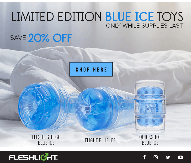 Fleshlight limited edition blue ice toys