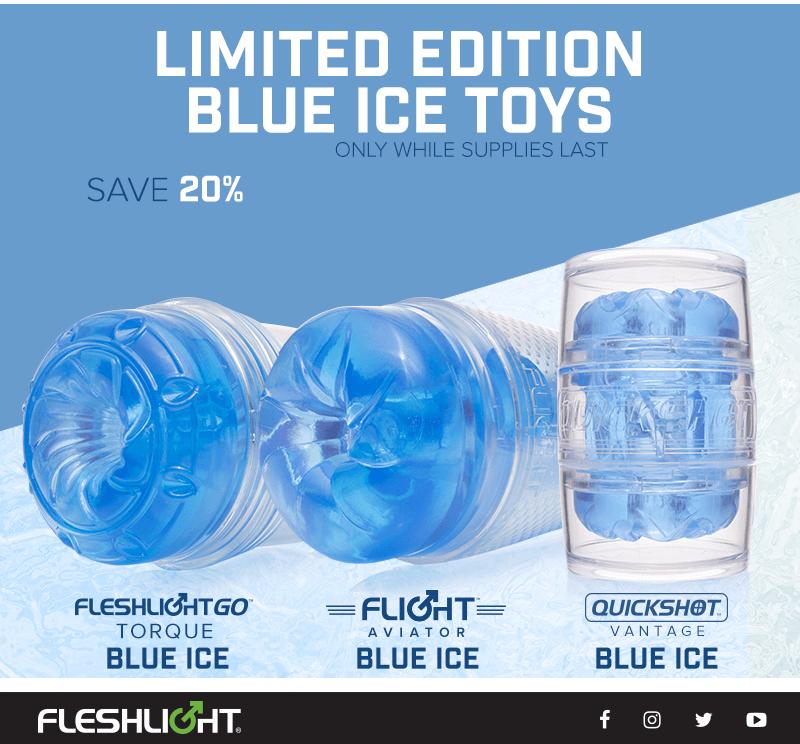 Fleshlight limited edition blue ice toys