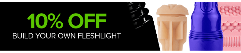 10 percent off build your own fleshlight
