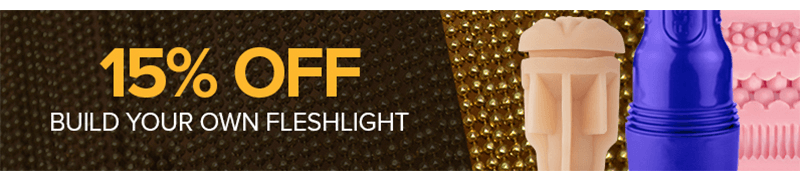 15 percent off Build Your Own Fleshlight