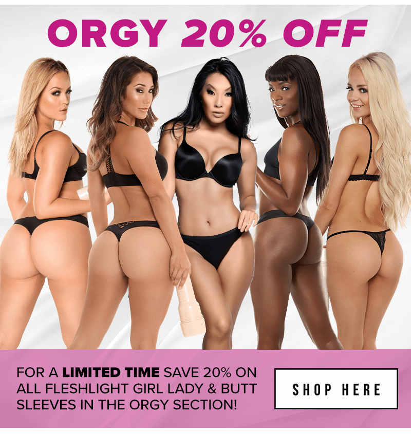 20 percent off Fleshlight Girls Orgy