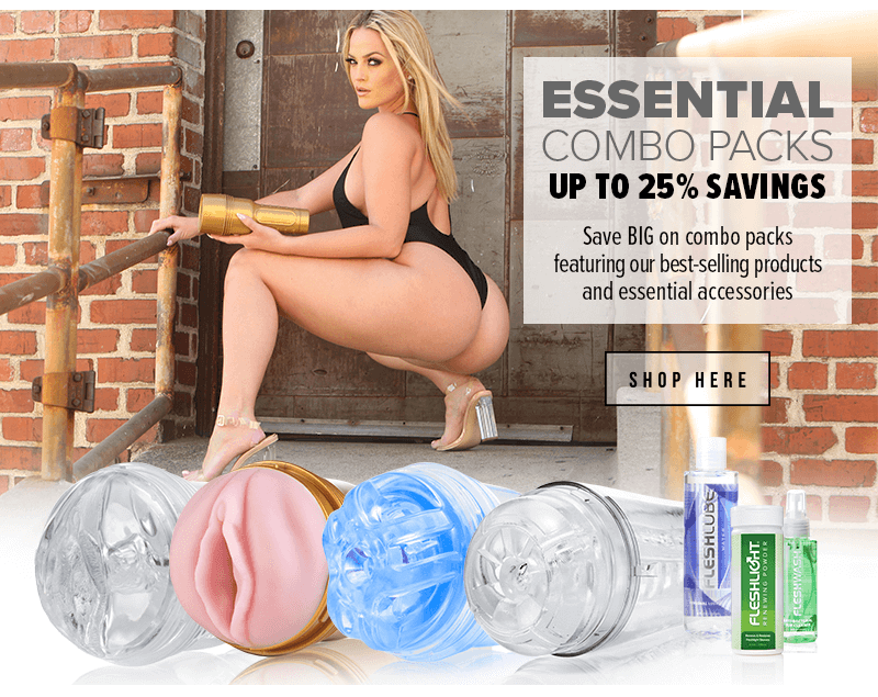 25 percent Savings Fleshlight Combo Packs