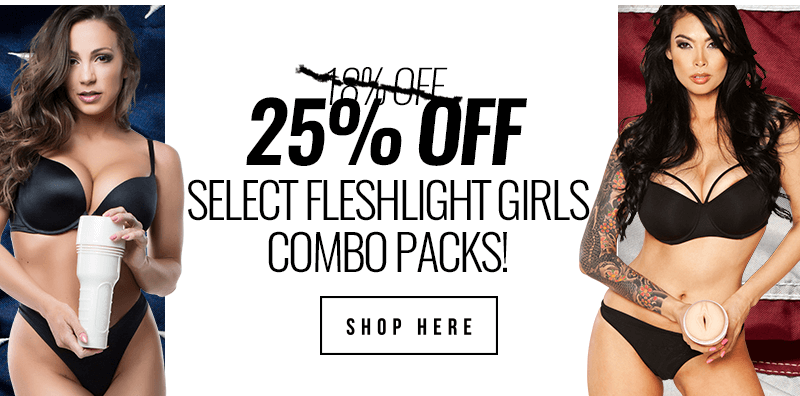25 percent savings Fleshlight Girls combo packs