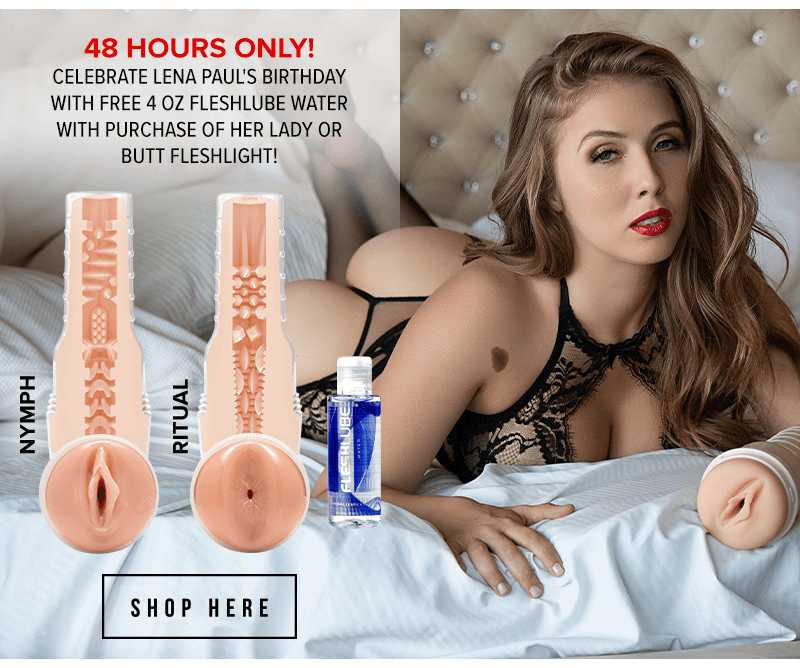 Fleshlight Girl Lena Paul birthday