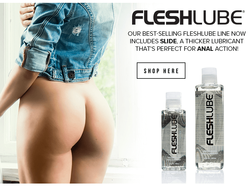 Fleshlight introducing Fleshlube Slide