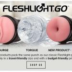 Fleshlight introducing GO Jolt