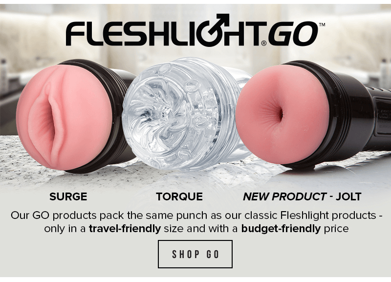 Fleshlight introducing GO Jolt