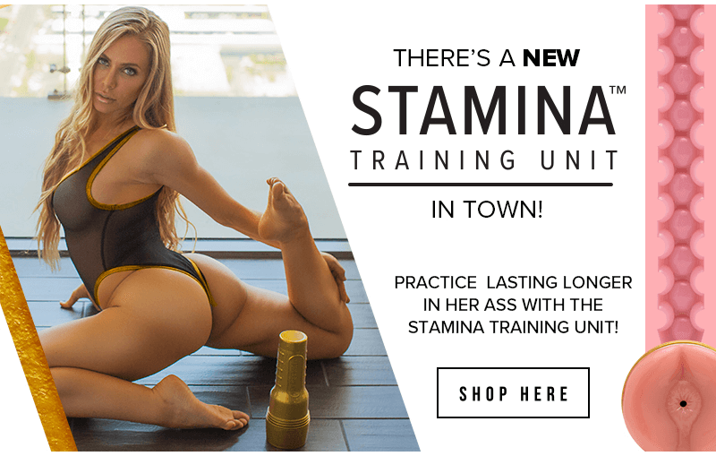 Fleshlight New Stamina Training Unit Butt