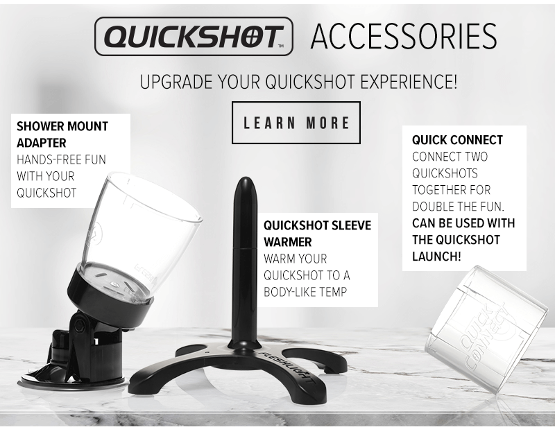 Fleshlight Quickshot Accessories
