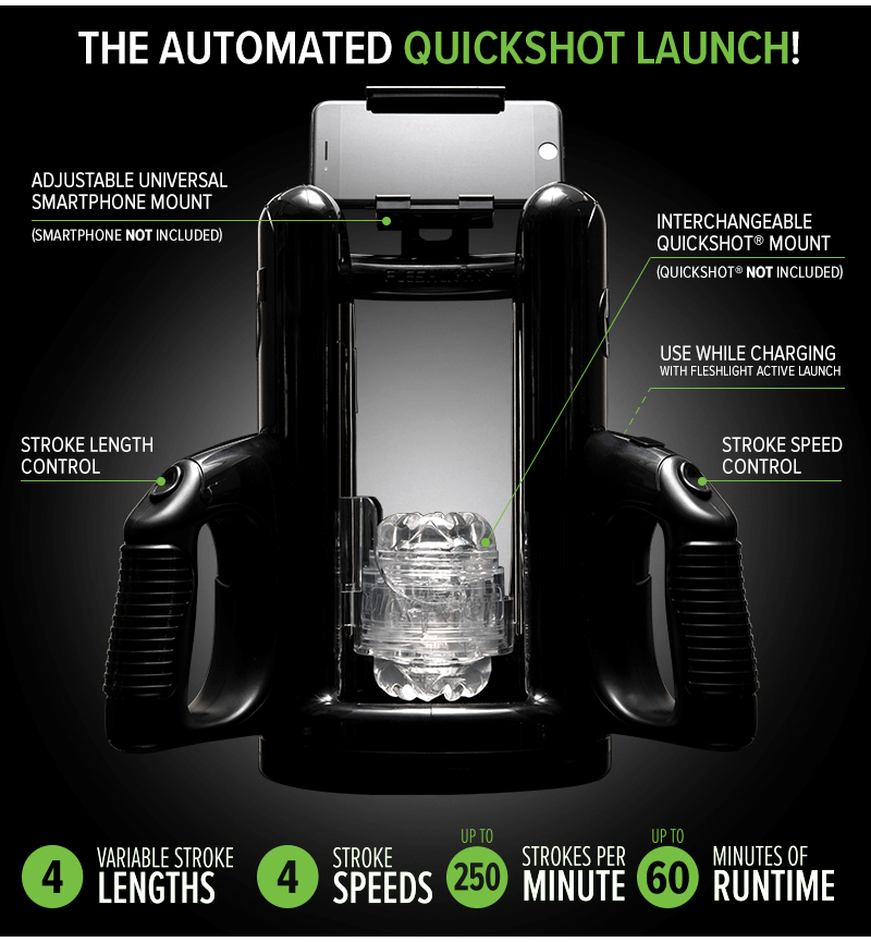 Fleshlight Quickshot Launch - Available Again!