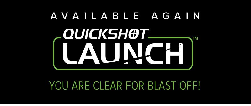 Fleshlight Quickshot Launch - Available Again!