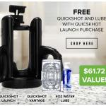 Fleshlight Quickshot Launch Free Quickshot and Lube