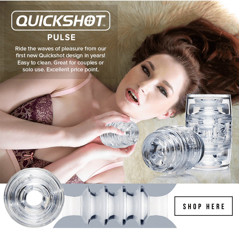 Introducing Fleshlight Quickshot Pulse