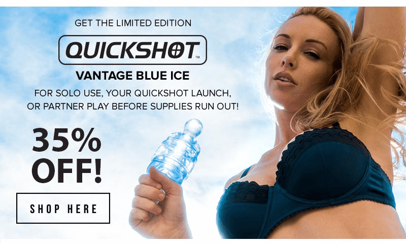 Fleshlight Quickshot Blue Ice - Limited Edition